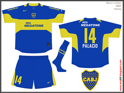 2005 Boca Juniors Home