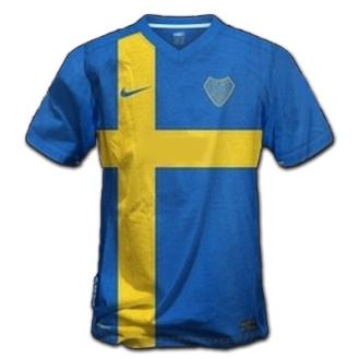 Camiseta Conmemorativa Bandera Sueca